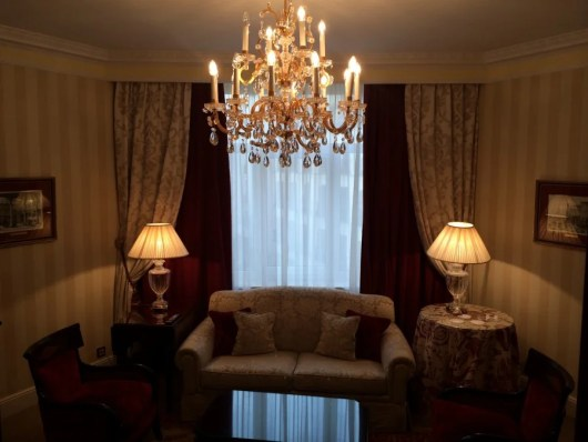 50-night Platinums can use a Suite Night Upgrade to a suite, like TPG did at the Westin in Madrid