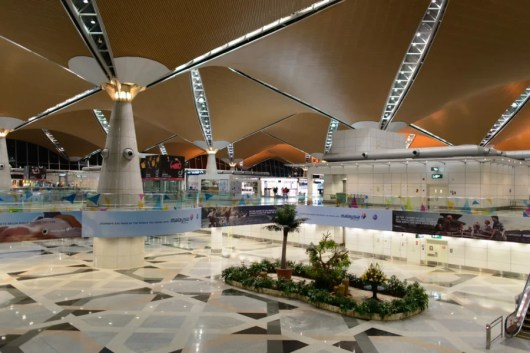 Kuala Lumpur's KLIA. Photo courtesy of Shutterstock.