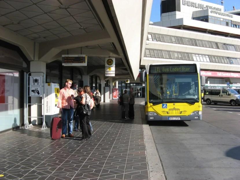 The TXL bus to the city (photo courtesy of Gag Halfrunt via Flickr)
