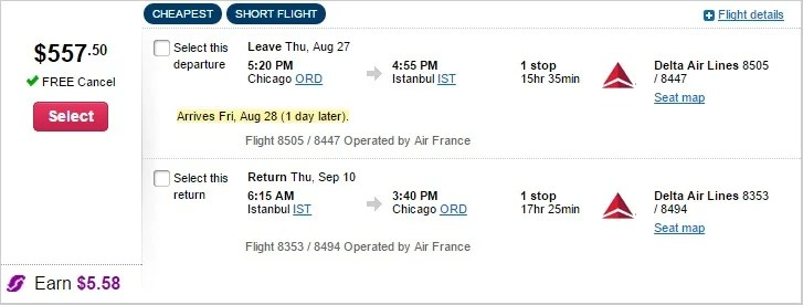 Air France Deal Chicago 2