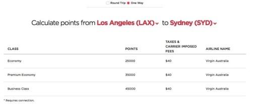 LAX-SYD