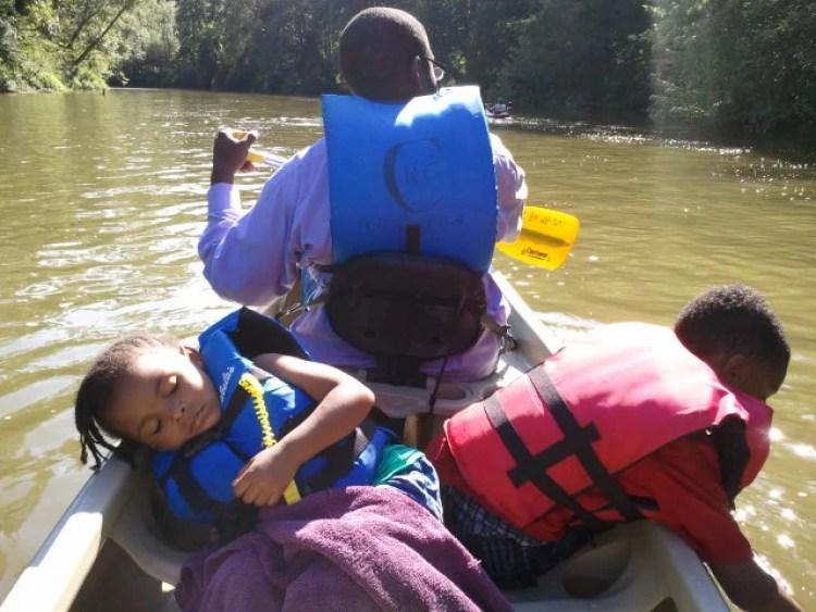 Washington to Washington canoeing