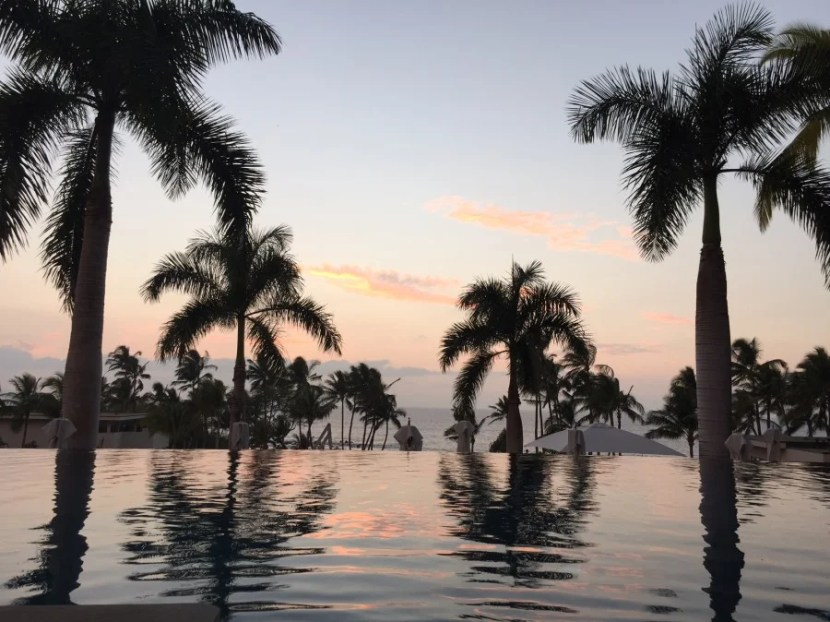VEry glad I made the decision to stay at the Andaz Maui, where I was treated to this view every day.