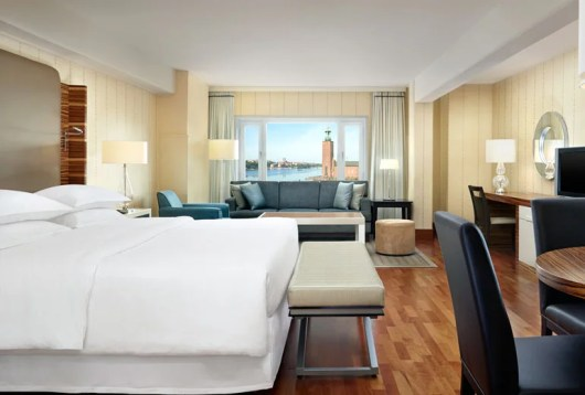 Consider a stay at the Sheraton Stockholm, a Category 5 SPG property starting at 12,000 SPG points per night.