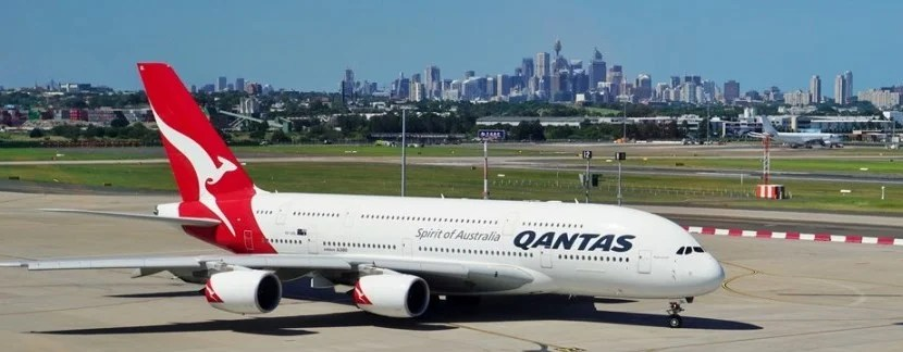 Qantas could be an option if you want to use AA miles to get to Sydney. Photo courtesy of Shutterstock.