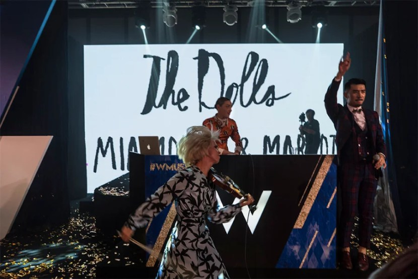 The Dolls rocking it out!