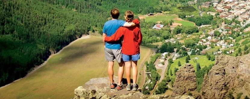 Telluride hiking overlook featured