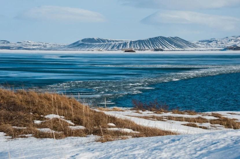 Icy Lake Mývatn (Photo courtesy of Yongyut Kumsri via Shutterstock)