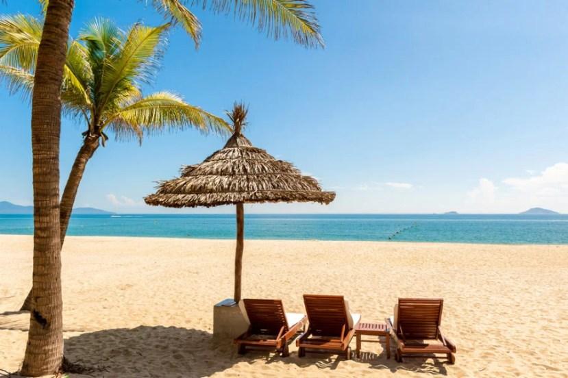 Cua Dai Beach in Hoi An, Vietnam