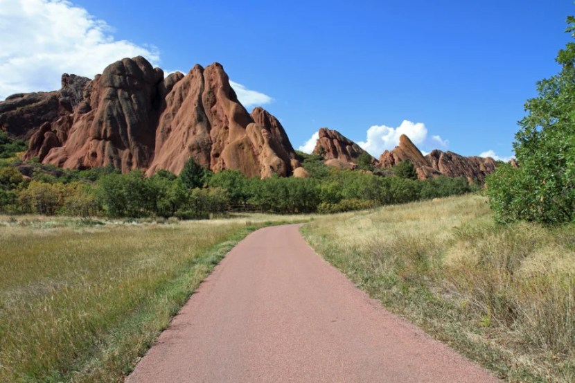 Hiking at Red Rocks. Photo courtesy of Thomas Barrat via Shutterstock