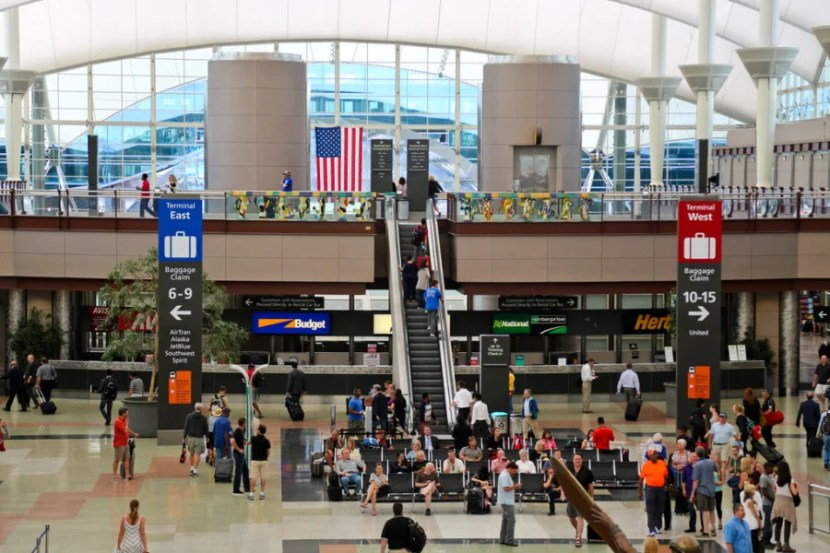 Jeppesen Terminal. Photo courtesy of Denver International Airport