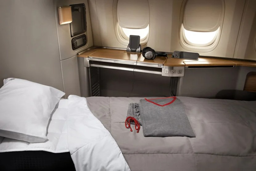 American Airlines 777-300ER first class.