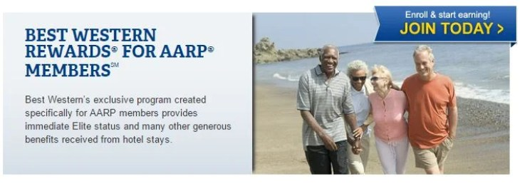 Get automatic gold status with Best Western Rewards AARP