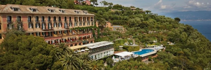The beautiful Belmond Splendido hotel in Portofino