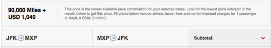 Ouch, I am not sure what Skywards is thinking on these surcharges.