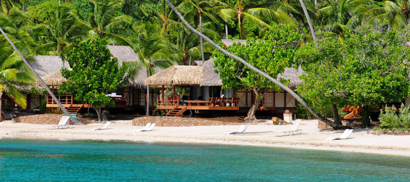 Many rooms at the InterContinental Moorea are just steps from the water