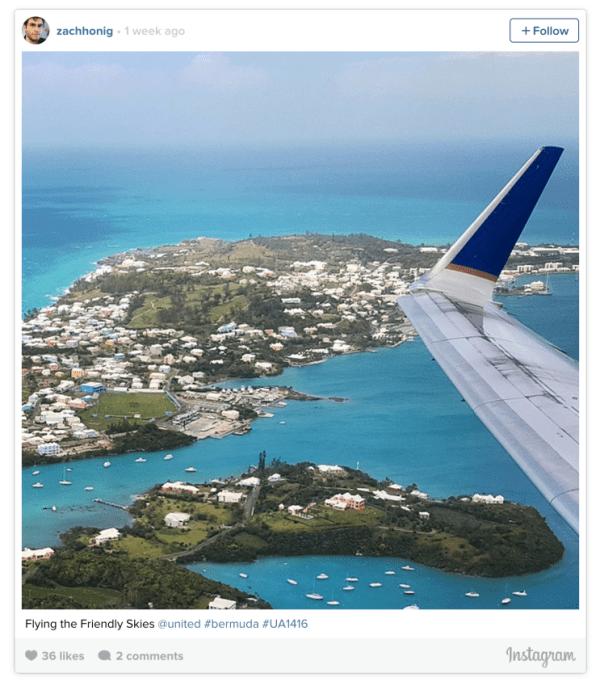 Instagram from Bermuda