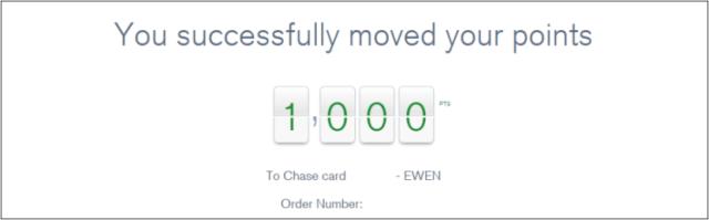 Ultimate Rewards transfer confirmation 1