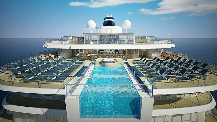 The Viking Star pool deck