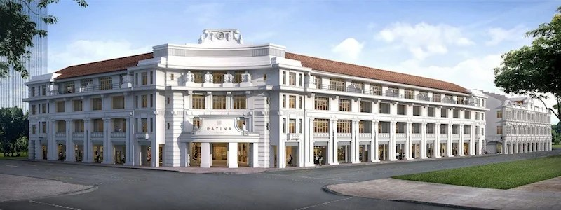The Patina Singapore will open in two historic buildings in September.