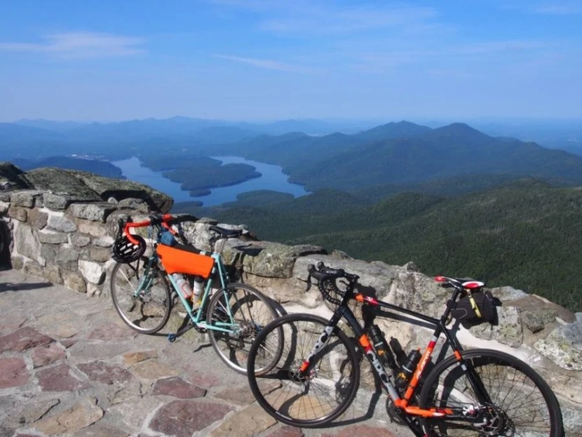 Bike across America — and pause to take in amazing  views — with Cycle Tours. Photo courtesy of CycleTours on Facebook.
