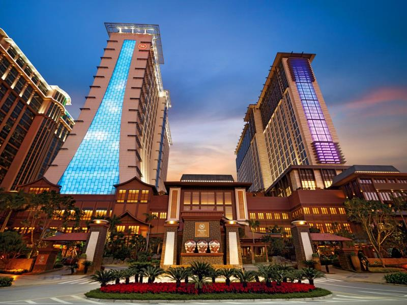Starwood's Macau property is the largest Sheraton in the world.