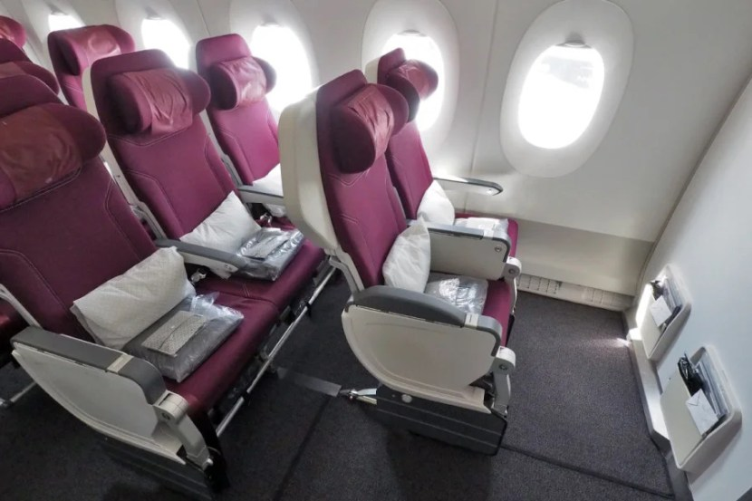 There are only two seats on each side in row 16, making this a great option for couples.