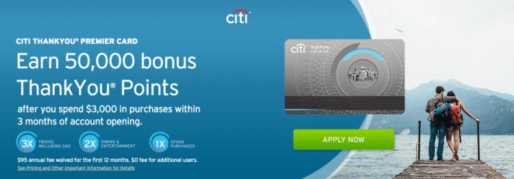 The Citi ThankYou Premier Card is very rewarding, especially with the new sign-up offer and category bonuses.