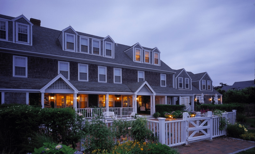 The Wauwinet, a Nantucket property built in the 1800s. Photo courtesy of The Wauwinet.