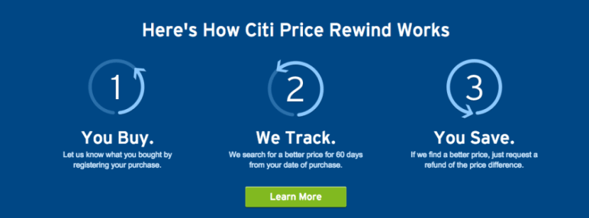 Citi Price Rewind sounds very simple, but there are several important restrictions to keep in mind,