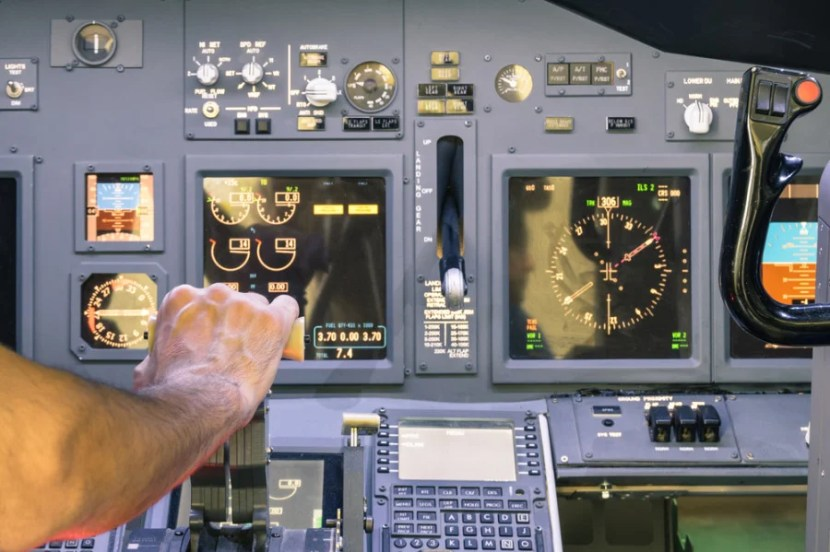 In the event of an in-flight heart attack, your pilot will begin immediately looking for the closest airport to land the plane and get to help. Photo courtesy of Shutterstock.