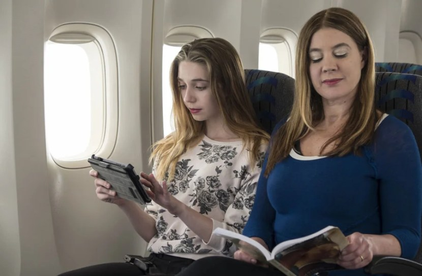 Stay connected with Gogo inflight internet passes, offered as a perk of the Platinum Card from Amex.