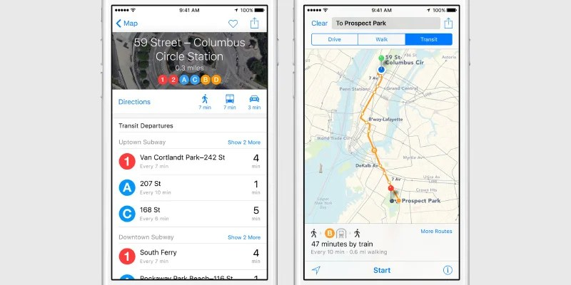 Apple Transit Featured