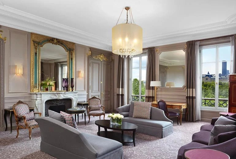 Consider staying at the Westin Paris.