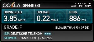 Etihad Wi-Fi Speed