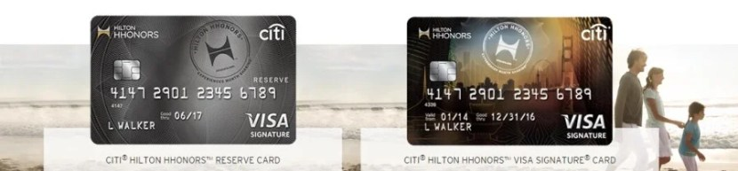 Citi Hilton cards