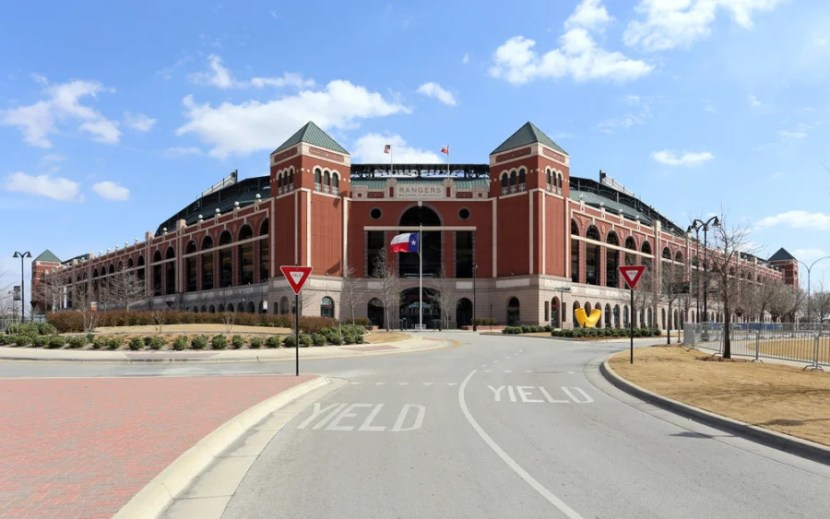 Globe Life Park in Arlington, Texas. Photo courtesy of the stadium.