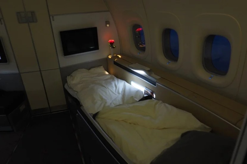 My bed for the evening.