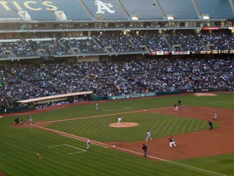 O.co Coliseum in Oakland, California. Photo courtesy of the stadium.