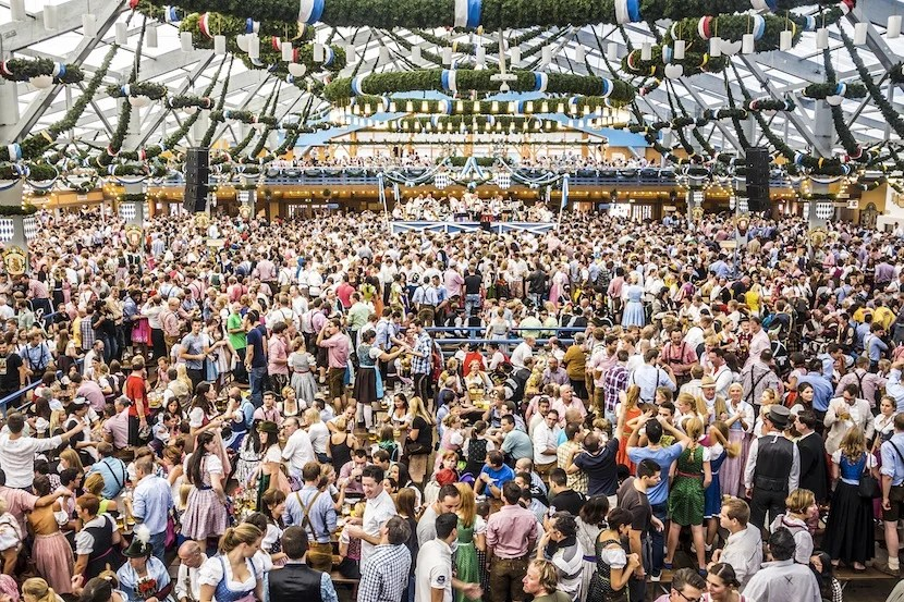 Head to Munich for Oktoberfest. Photo courtesy of Shutterstock.