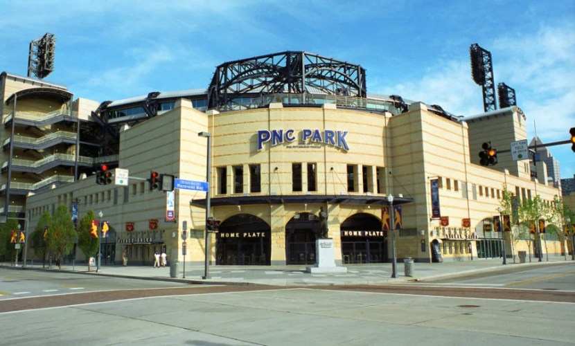 PNC Park in Pittsburgh, Pennsylvania. Photo courtesy of the stadium.