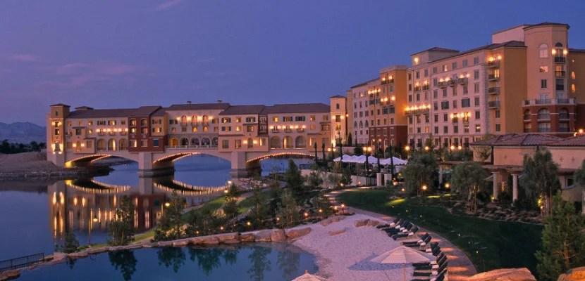 Hilton Lake Las Vegas Resort & Spa Exterior and Ponte Vecchio Bridge