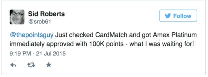 cardmatch tweet