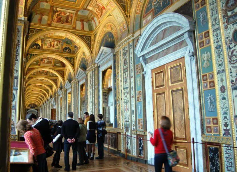 All the hoops are worth it when you see sights like the gorgeous interiors of the Hermitage in St. Petersburg.