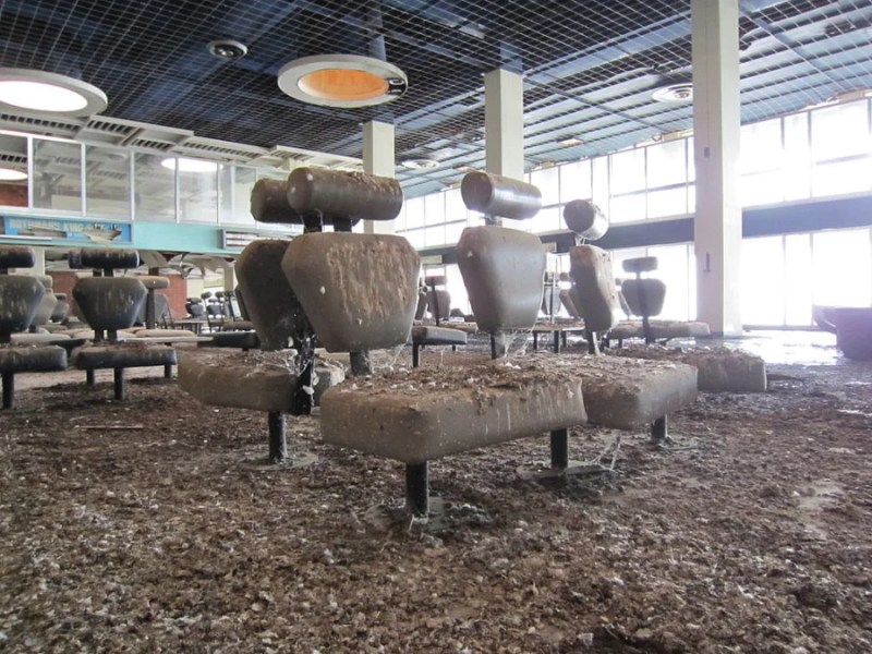 Cyprus's Nicosia Airport might be the spookiest on this list. Photo credit: Dickelbers/Wikipedia.