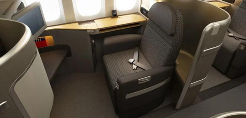 American First Class 77W 777-300ER Featured
