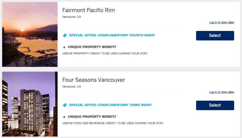 FHR Vancouver