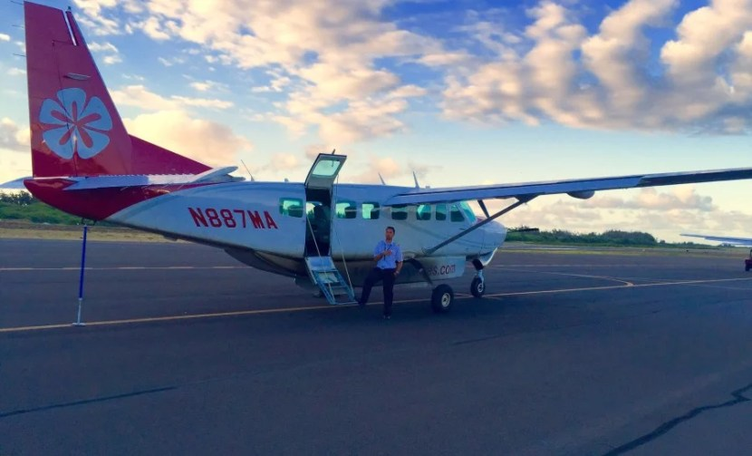 If you're looking to fly inter-island, Mokulele Airlines offer several direct flights daily in Cessna turboprops.