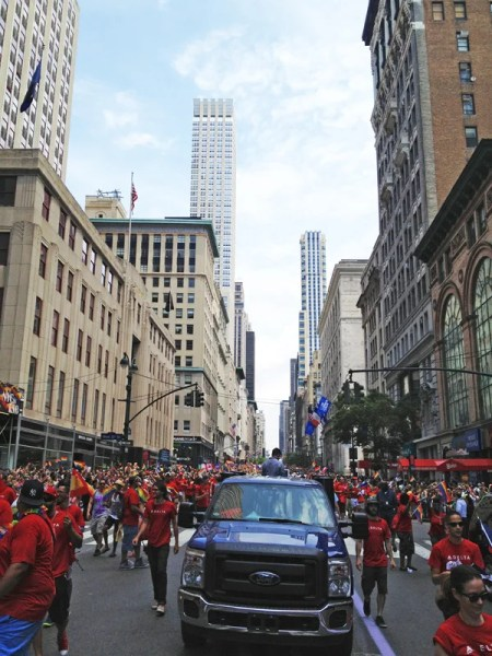 New York City's Pride goes right down Fifth Avenue — and if you attend, you should stay nearby.