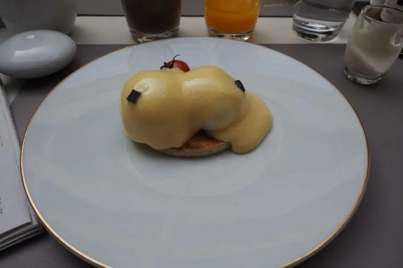 My tiny, boring, not-good breakfast.